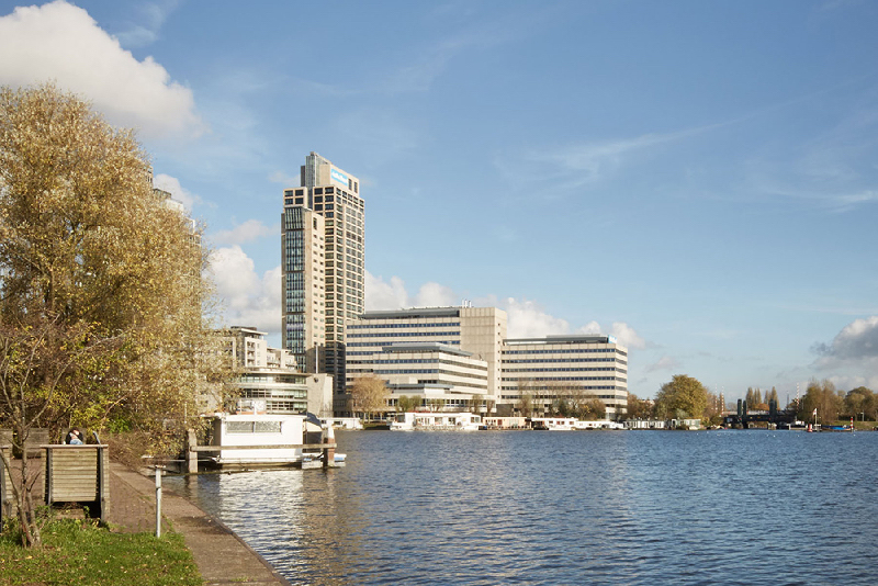 Amstelplein in Amsterdam
