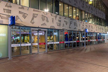 Stationsplein in Rotterdam