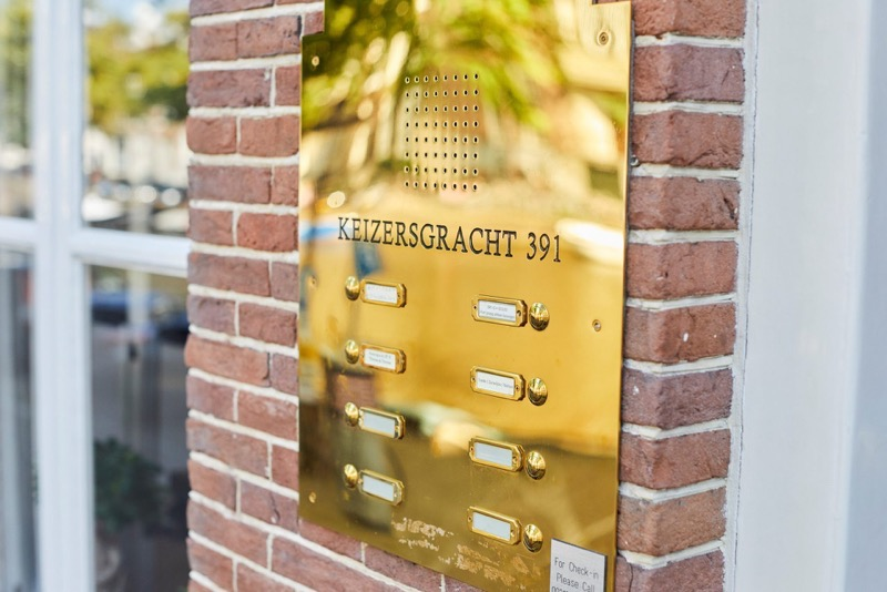 Keizersgracht 391 in Amsterdam