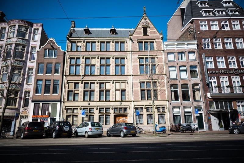 Nieuwezijds Voorburgwal in Amsterdam